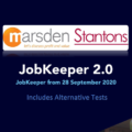 JobKeeper 2.0 JobKeeper from 28 September 2020 (including Alternative tests)