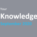 Your Knowledge 2020 September