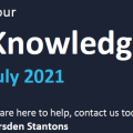 Your Knowledge July 2021